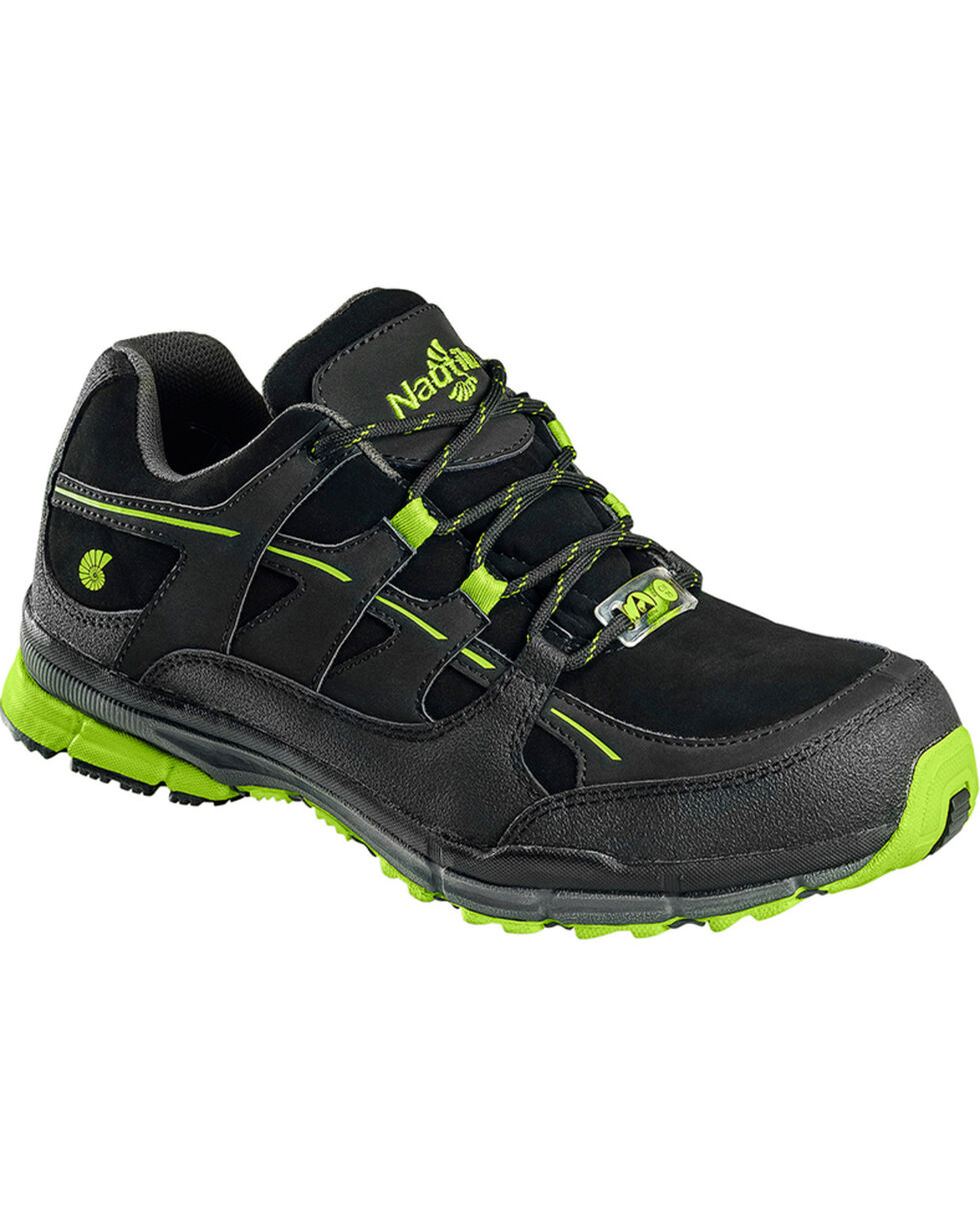 Nautilus Women's ESD Athletic Safety Shoes - Steel Toe , Black, hi-res
