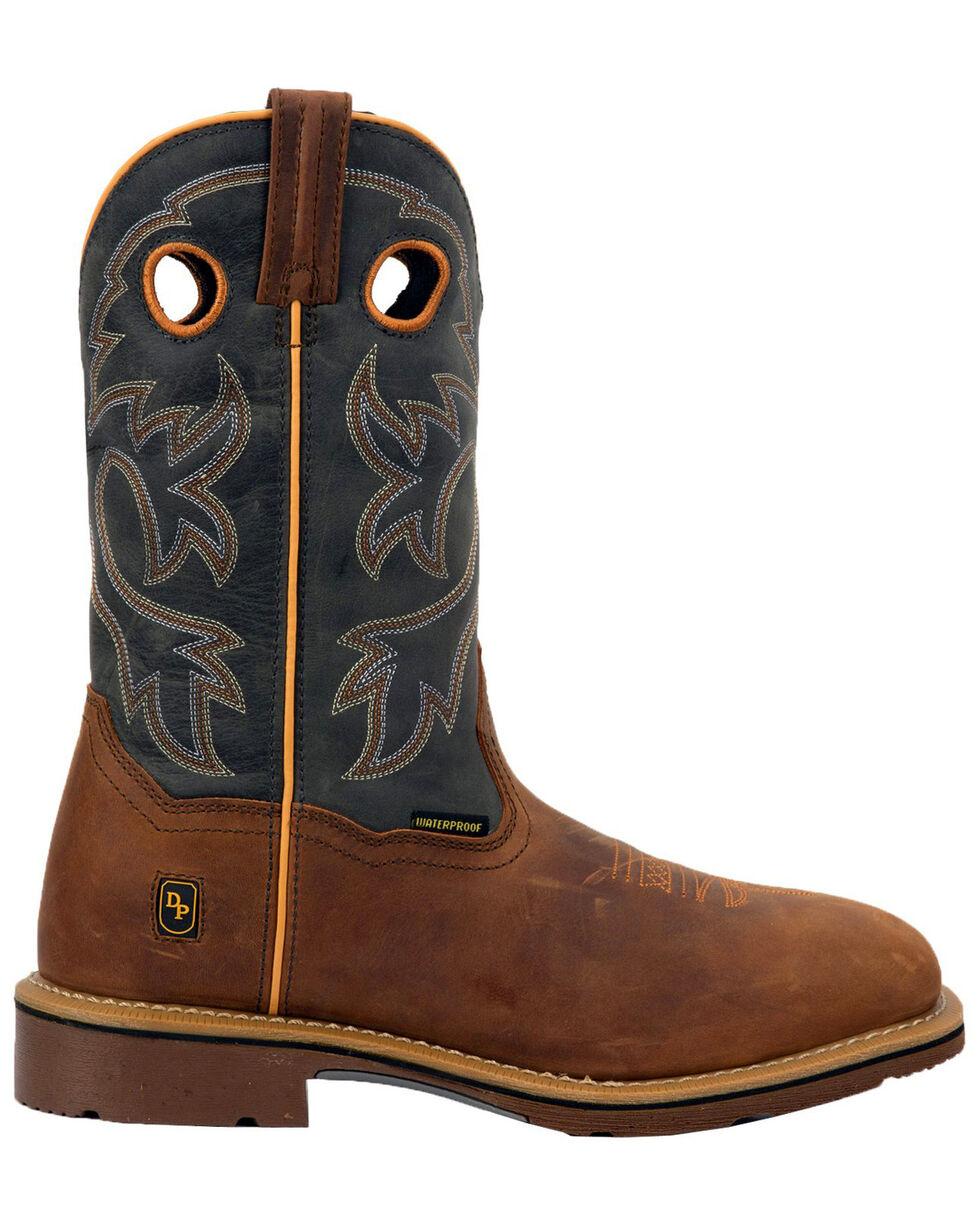 Dan Post Men's Hilldale Western Boots - Square Toe, Tan, hi-res
