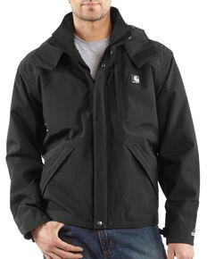 Carhartt Men's Shoreline Work Jacket - Big & Tall, Black, hi-res