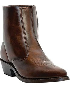 Laredo Men's Long Haul Leather Boots - Medium Toe, Brown, hi-res