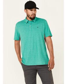 Wrangler ATS Men's All-Terrain Green Performance Short Sleeve Polo Shirt , Green, hi-res