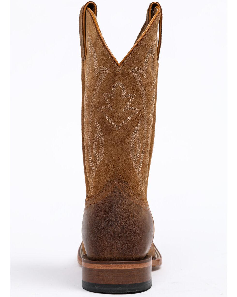 Cody James Men's CJ Brown Western Boots - Wide Square Toe, Brown, hi-res