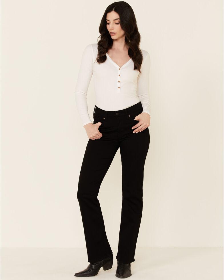 Levi's Women's Classic Soft Black Bootcut Jeans, Black, hi-res