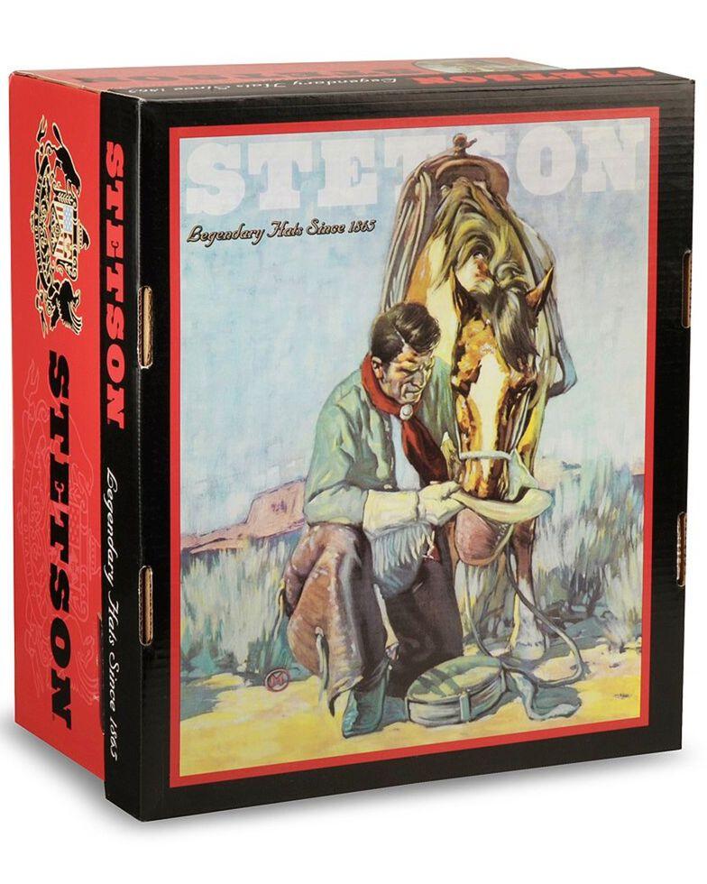 Stetson Men's 5X Catera Fur Felt Cowboy Hat, Bark, hi-res