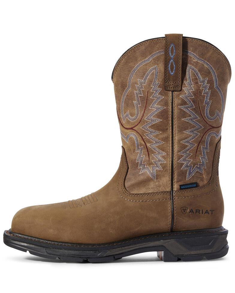 Ariat Men's Workhog XT Western Work Boots - Square Toe, Brown, hi-res