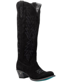 Lane Women's Fire Away Western Boots - Round Toe, Black, hi-res