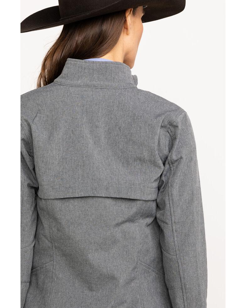 Ariat Women's Journey Softshell Zip Front Jacket , Black, hi-res