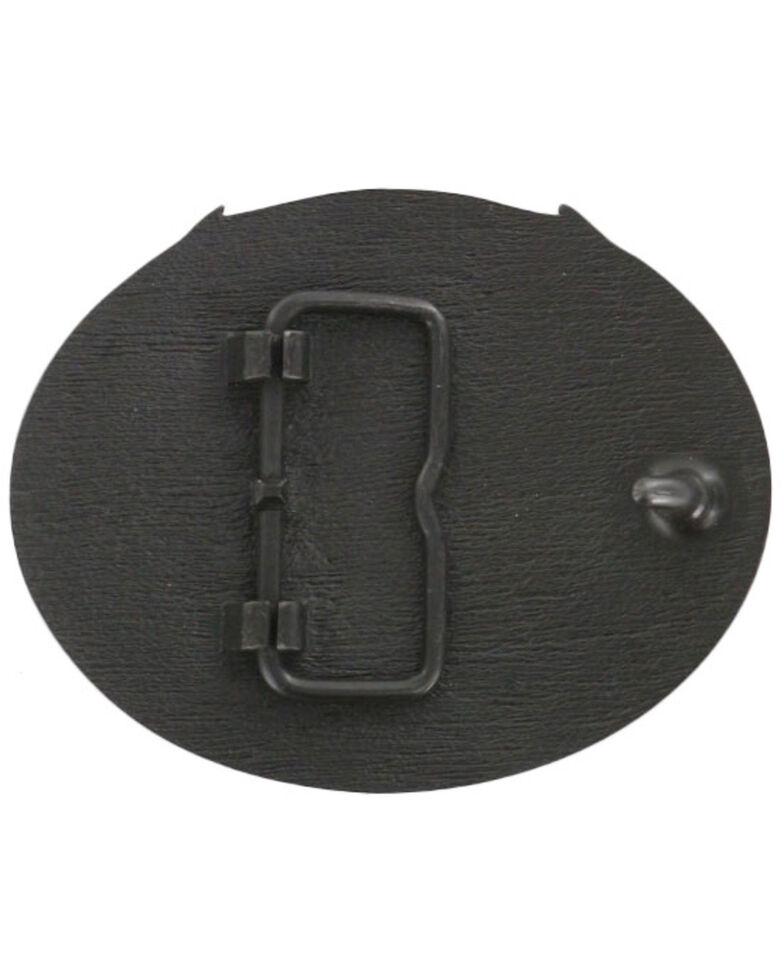 Cody James Men's Deer Skull Belt Buckle, Bronze, hi-res