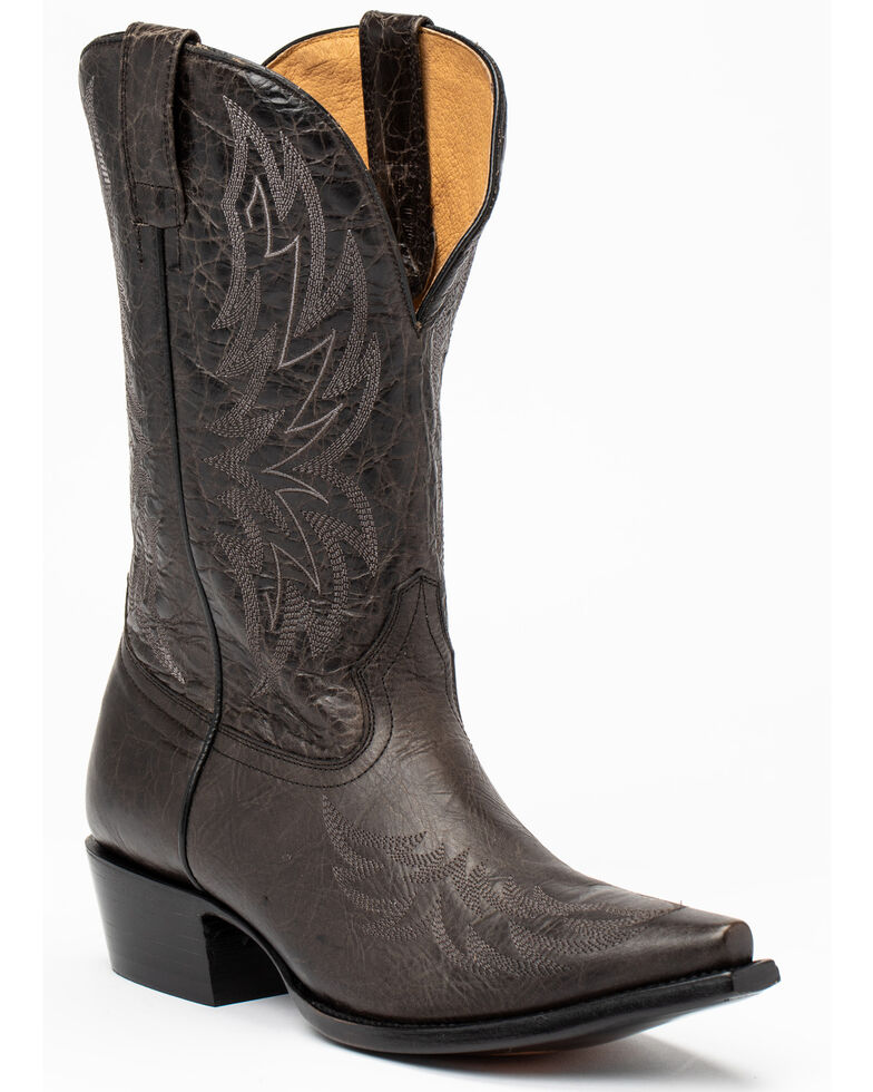 Moonshine Spirit Men's Rushmore Western Boots - Snip Toe, Black, hi-res