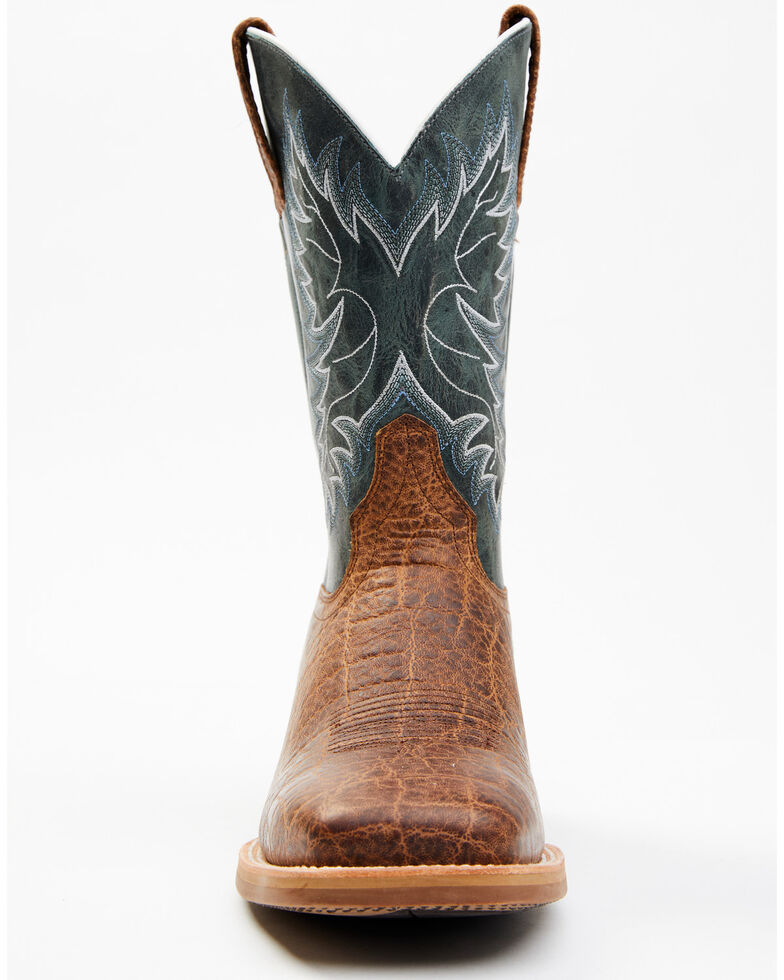 Cody James Men's Fowler XG Western Boots - Wide Square Toe, Blue, hi-res