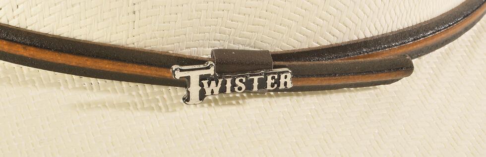 Twister 5X Shantung Double S Straw Cowboy Hat, Natural, hi-res