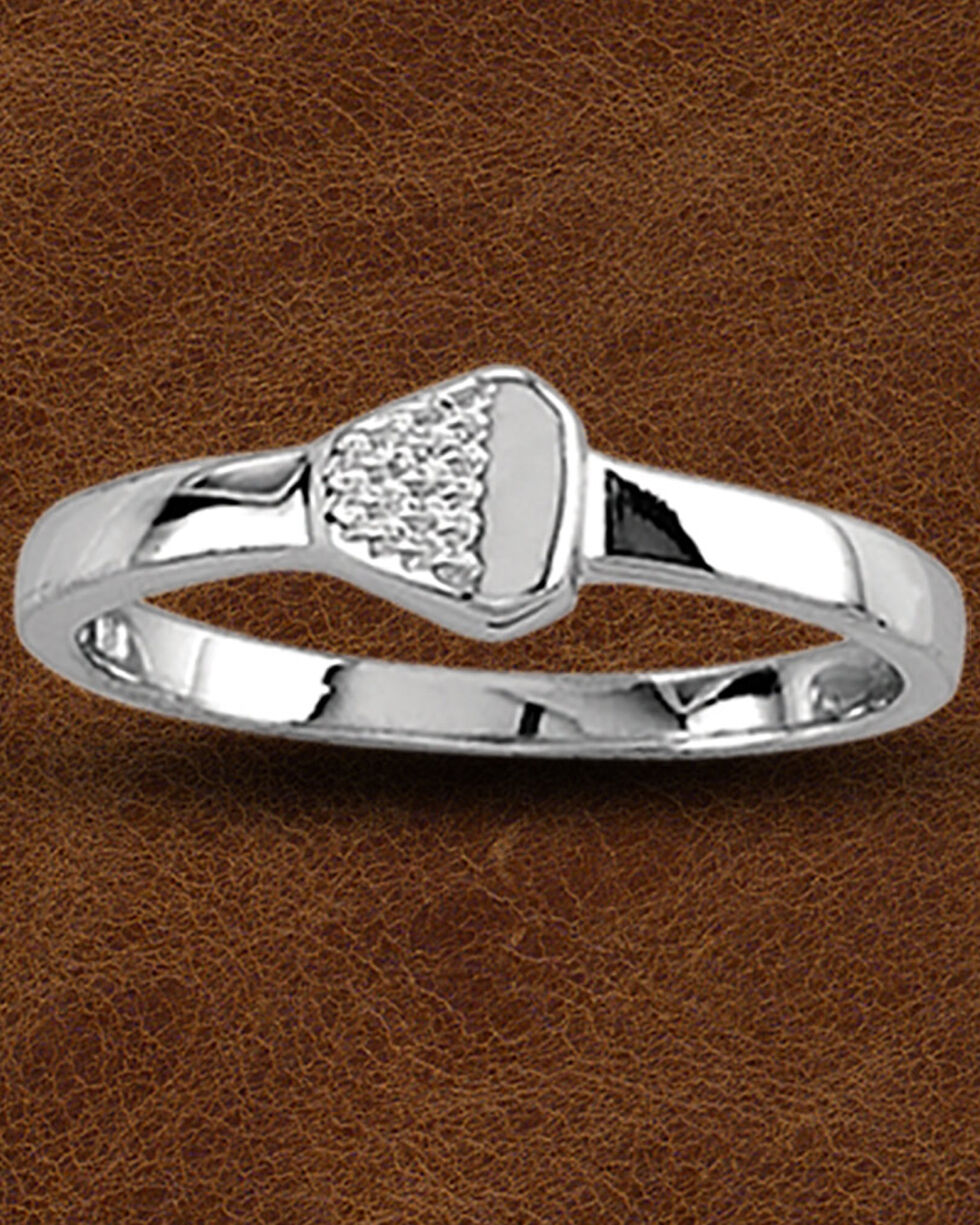 Kelly Herd Sterling Silver Nail Ring, Silver, hi-res