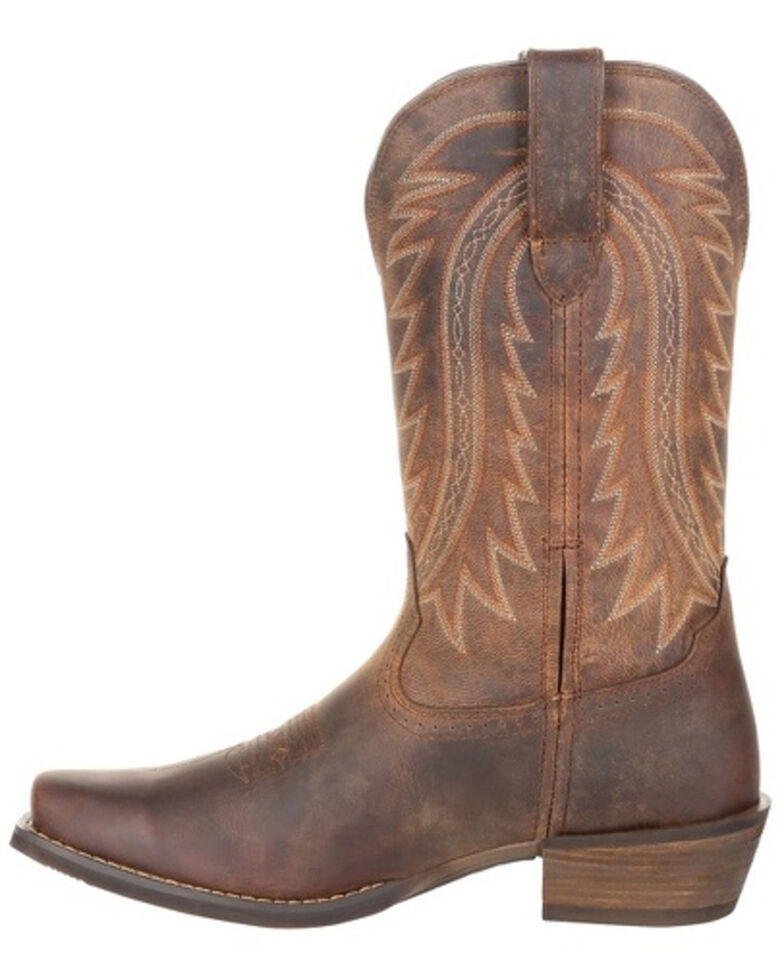 Durango Men's Rebel Frontier Western Boots - Square Toe, Brown, hi-res