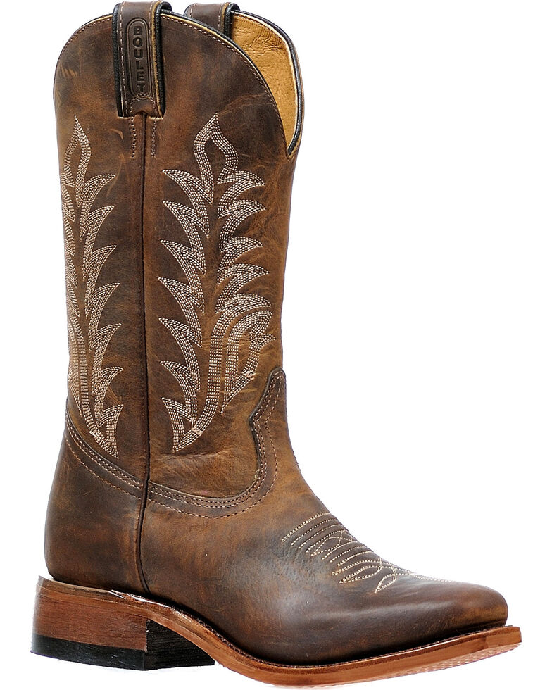 Boulet Women's Hillbilly Golden Cowgirl Boots - Square Toe, , hi-res