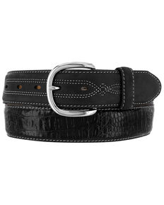 Leegin Men's Hidalgo Hornback Western Belt, Black, hi-res