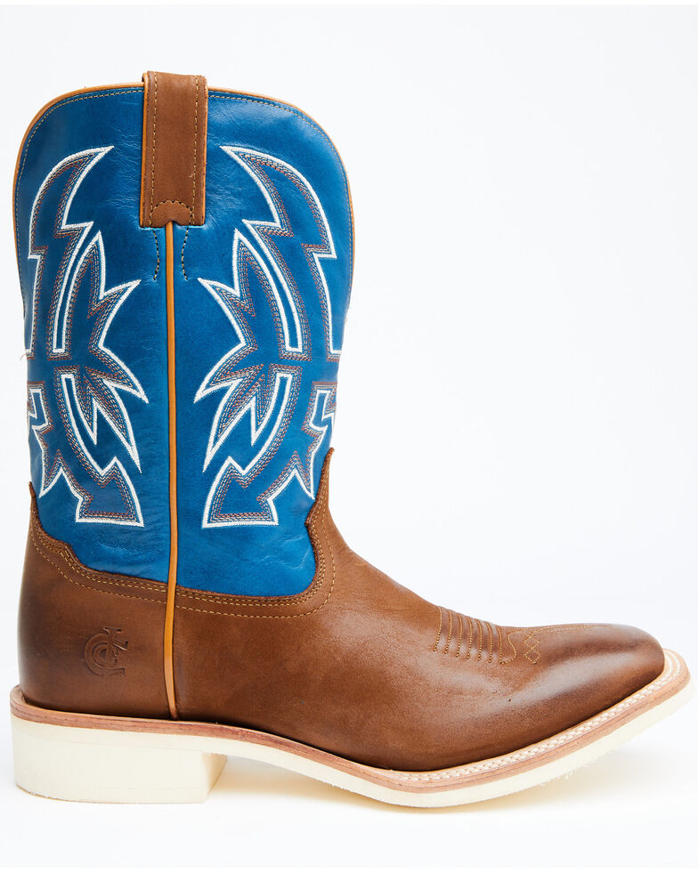 Cody James Men's Clements Western Boots - Wide Square Toe, Tan, hi-res