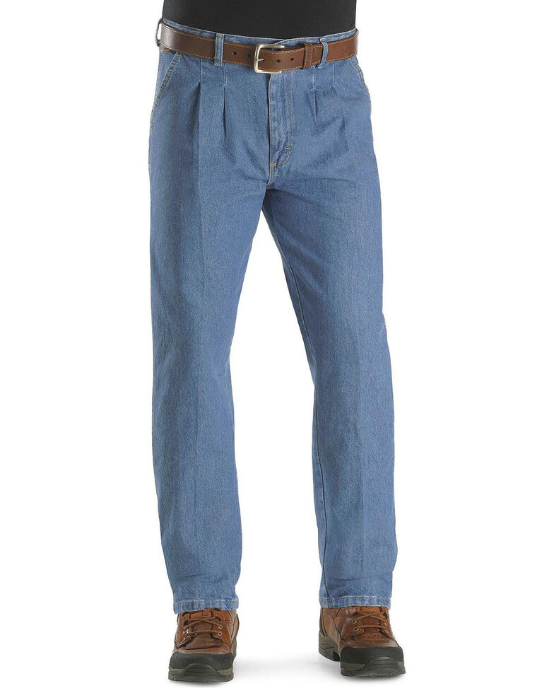 Wrangler Rugged Wear Men S Relaxed Long Angler Work Jeans