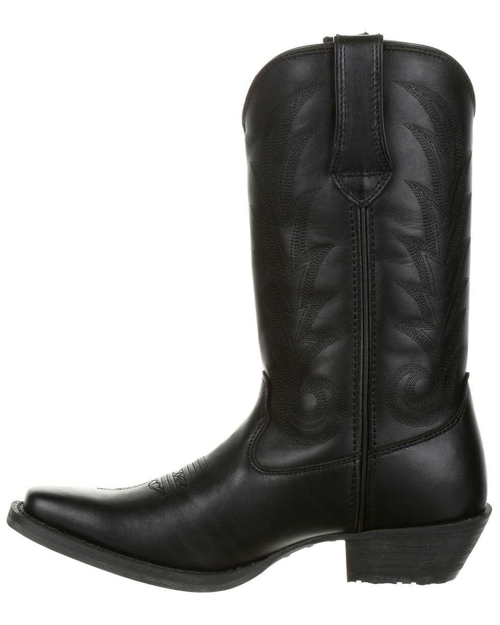 Durango Women's Western Boots - Square Toe, Black, hi-res