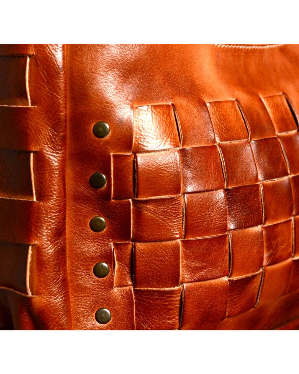 Bed Stu Women's Orchid Cognac Shoulder Bag, Cognac, hi-res
