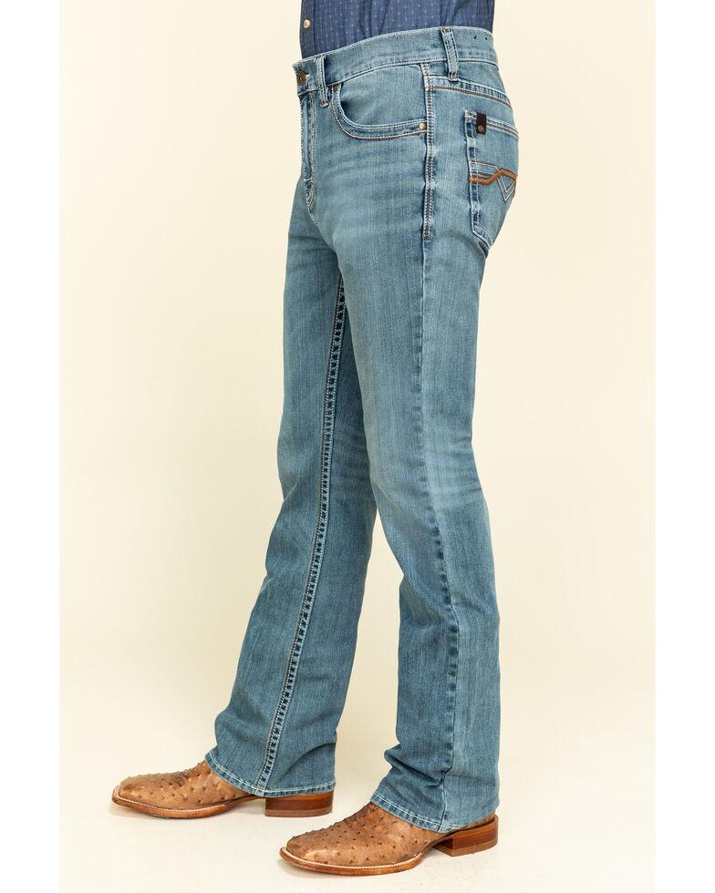 Cody James Core Men's Scorline 4-Way Performance Stretch Slim Bootcut Jeans , Blue, hi-res
