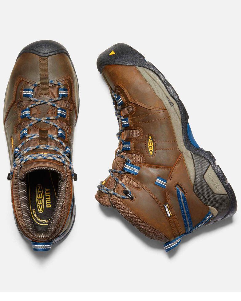 Keen Men's Detroit XT Waterproof Work Boots - Steel Toe, Brown, hi-res