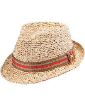 Peter Grimm Men's Kempten Fedora Hat , Natural, hi-res