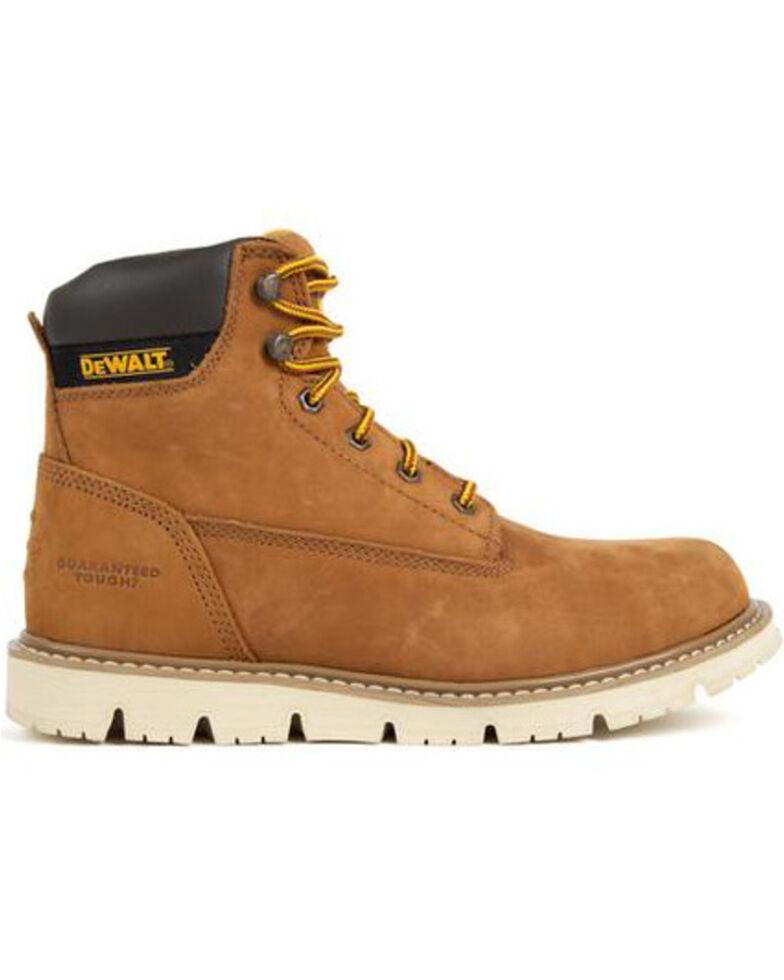 DeWalt Men's Flex Lace-Up Work Boots - Steel Toe, Suntan, hi-res
