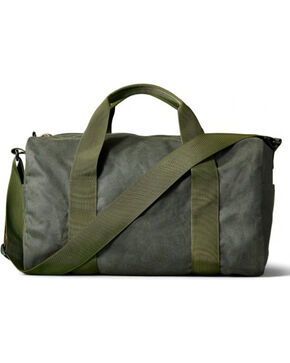 Filson Small Tin Cloth Field Duffle Bag, Dark Green, hi-res