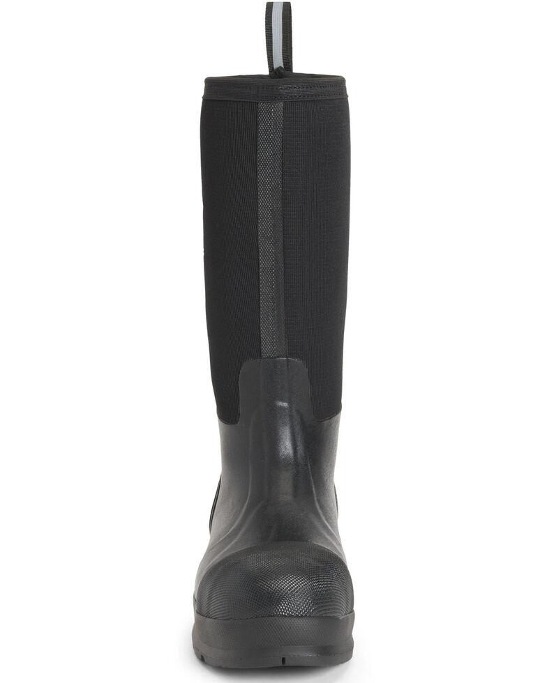 Muck Boots Men's Chore Max Rubber Boots - Composite Toe, Black, hi-res