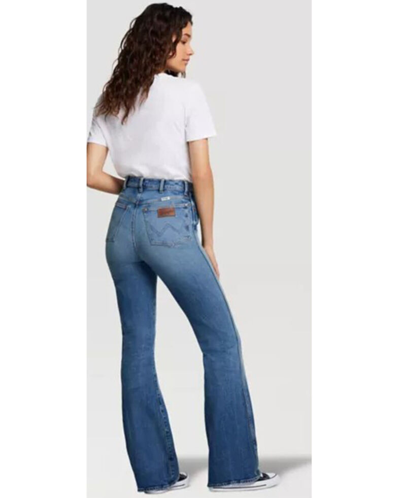 Wrangler Modern Women's Medium Wash Westward Bootcut Jeans, Blue, hi-res