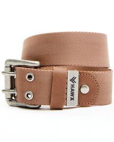 Hawx Men's Double Perforated Work Belt, Tan, hi-res