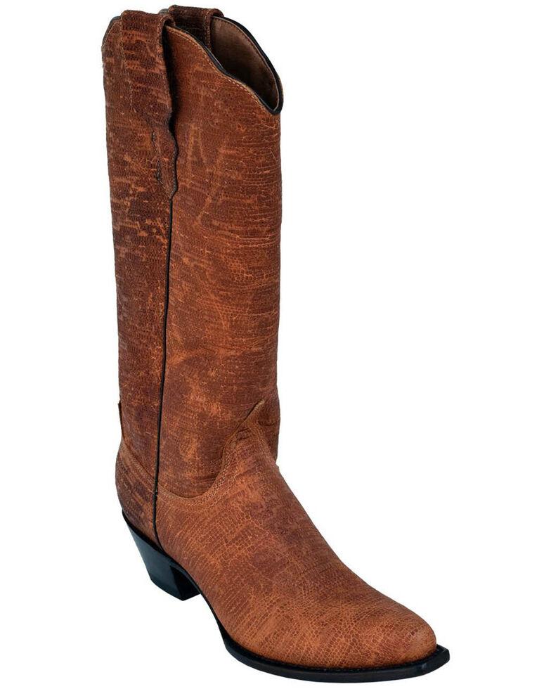 Ferrini Women's Arizona Brown Western Boots - Round Toe, Brown, hi-res