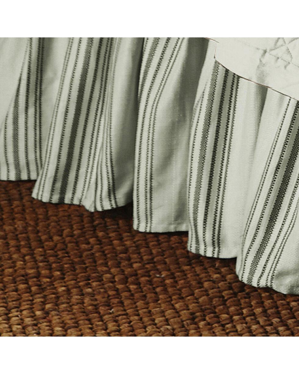 HiEnd Accents Prescott Taupe Stripe Pillow Sham Set - Queen , Taupe, hi-res