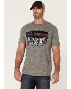 Flag & Anthem Men's Grey Flag Short Sleeve Graphic T-Shirt, Grey, hi-res