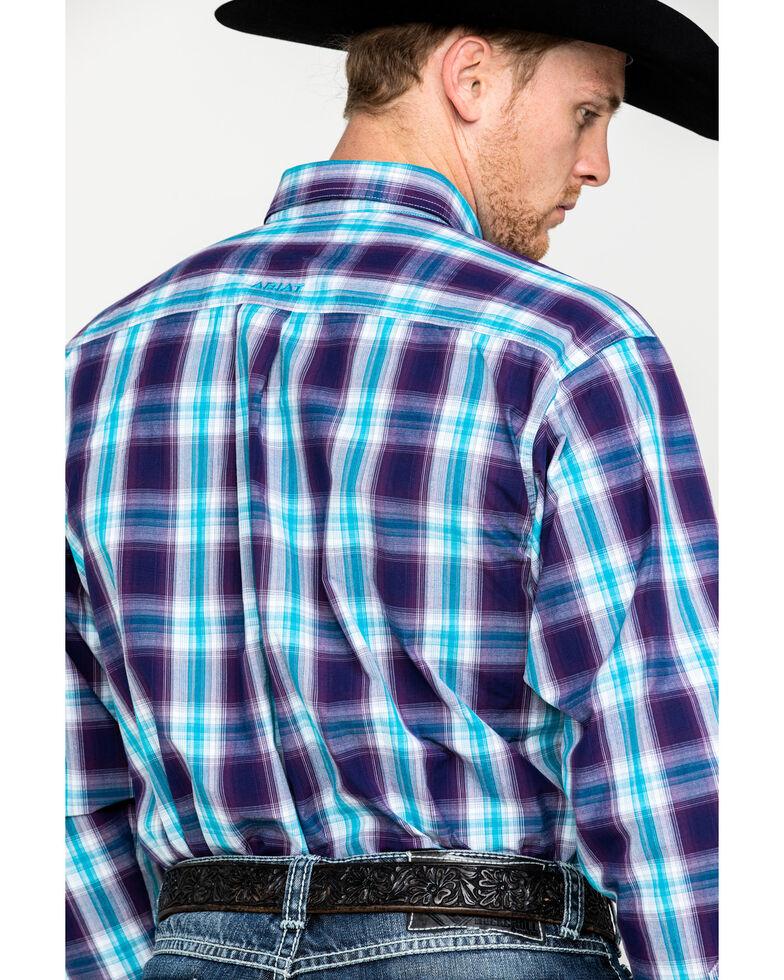 Ariat Men's Santos Large Plaid Long Sleeve Western Shirt, Multi, hi-res