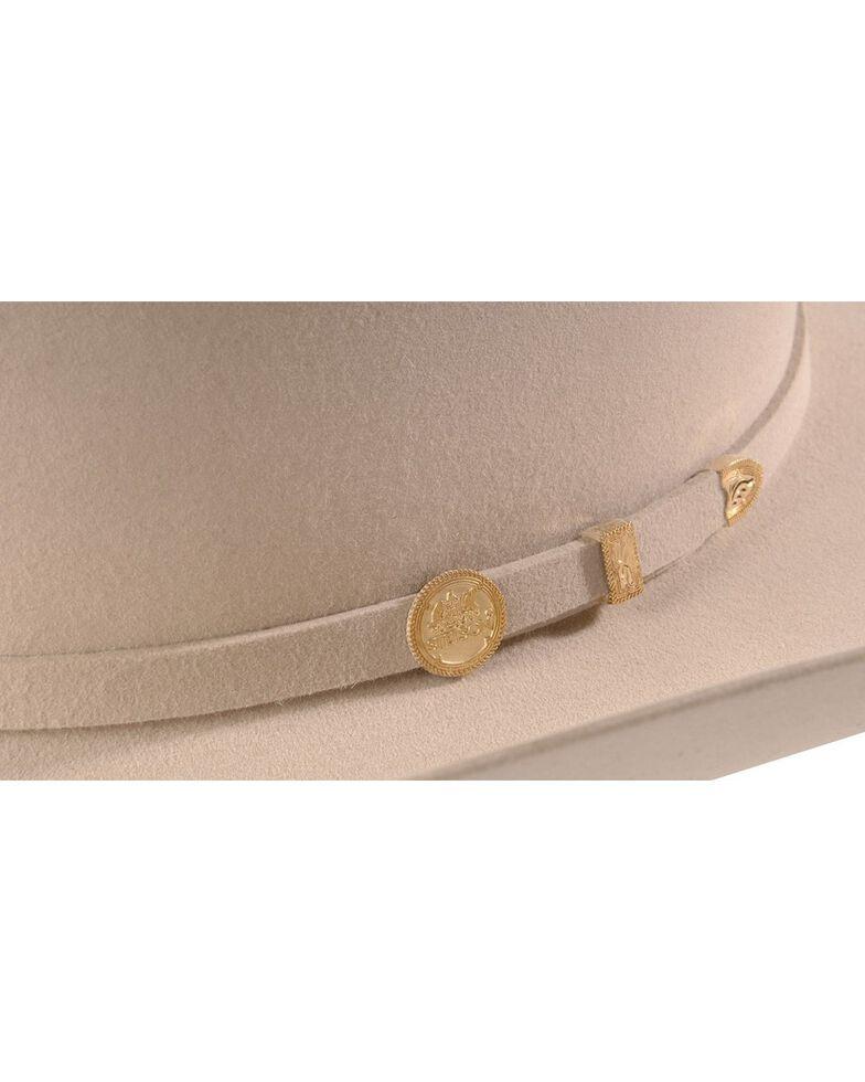 Stetson Men's 100X El Presidente Fur Felt Western Hat, Silverbelly, hi-res
