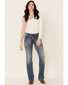 Wrangler Retro Women's Juliet Bootcut Jeans, Blue, hi-res