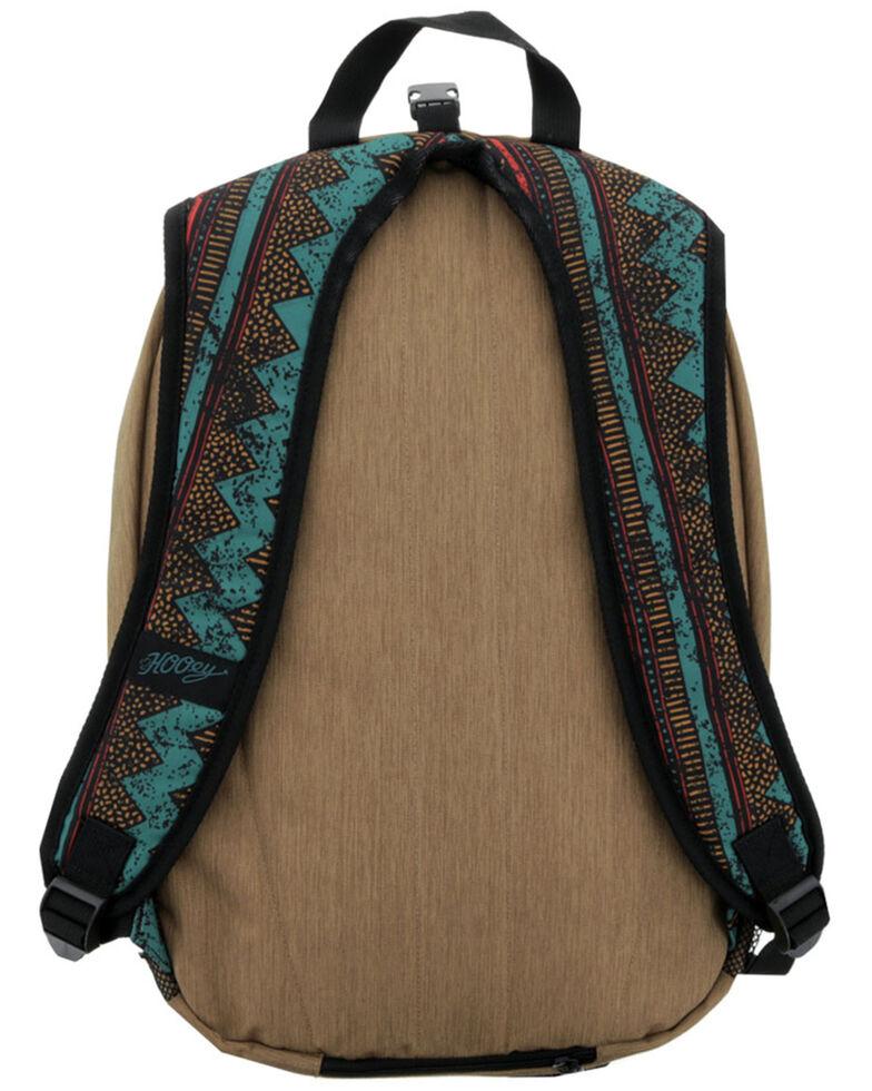 HOOey Rockstar Brown Aztec Backpack, Brown, hi-res