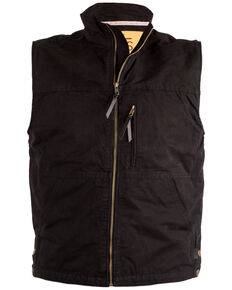 STS Ranchwear Men's Black Sundance Vest - Big , Black, hi-res