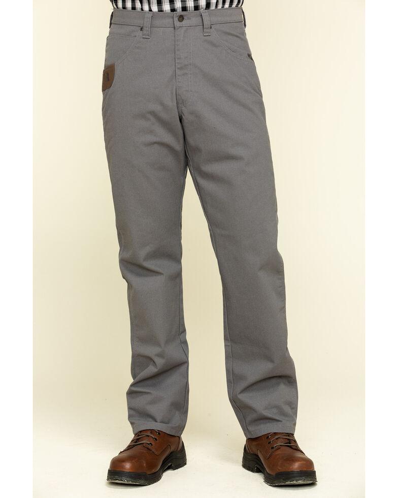 Wrangler Riggs Men's Slate Relaxed Ripstop Technical Work Pants , Slate, hi-res