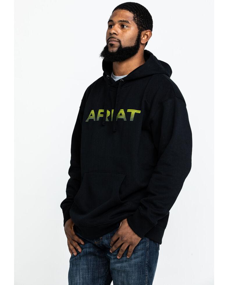Ariat Men's Logo Pullover Hoodie , Black, hi-res