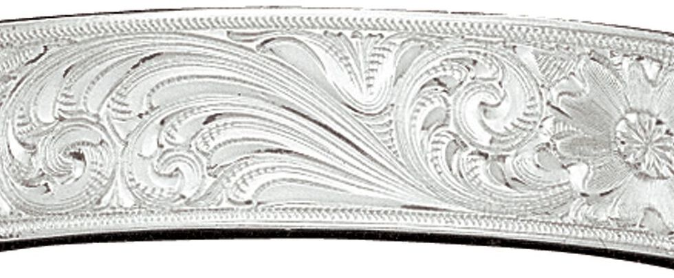 Montana Silversmiths Fully Engraved Cuff Bracelet, Silver, hi-res