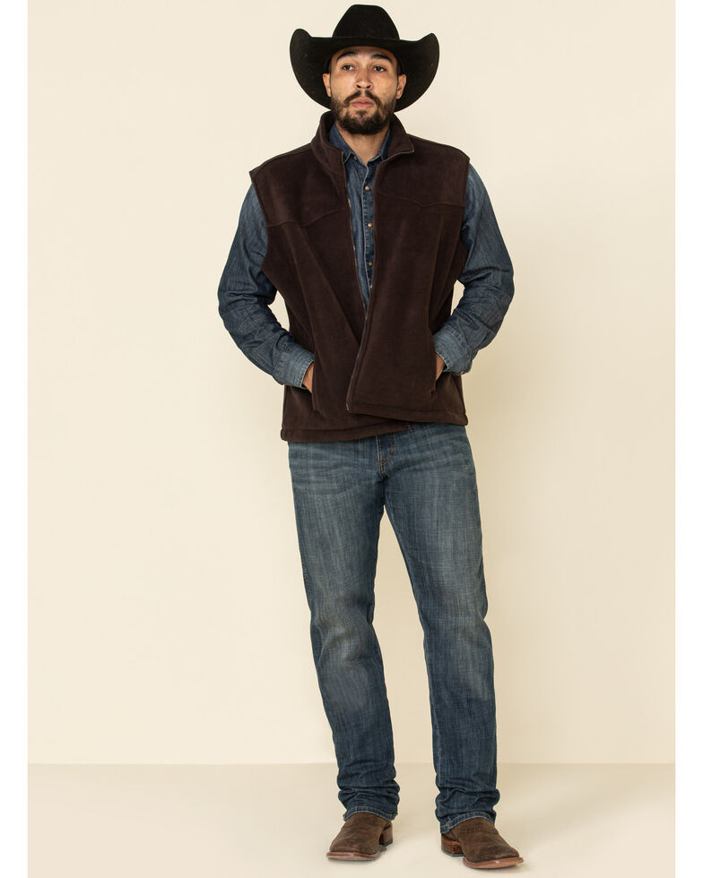 Outback Trading Co. Men's Brown Oregon Vest , Brown, hi-res
