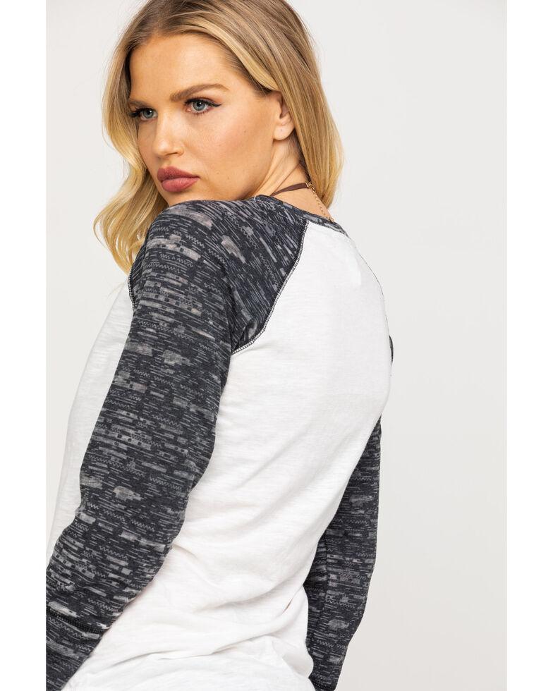 Ariat Women's Roadtrip Shirt, White, hi-res