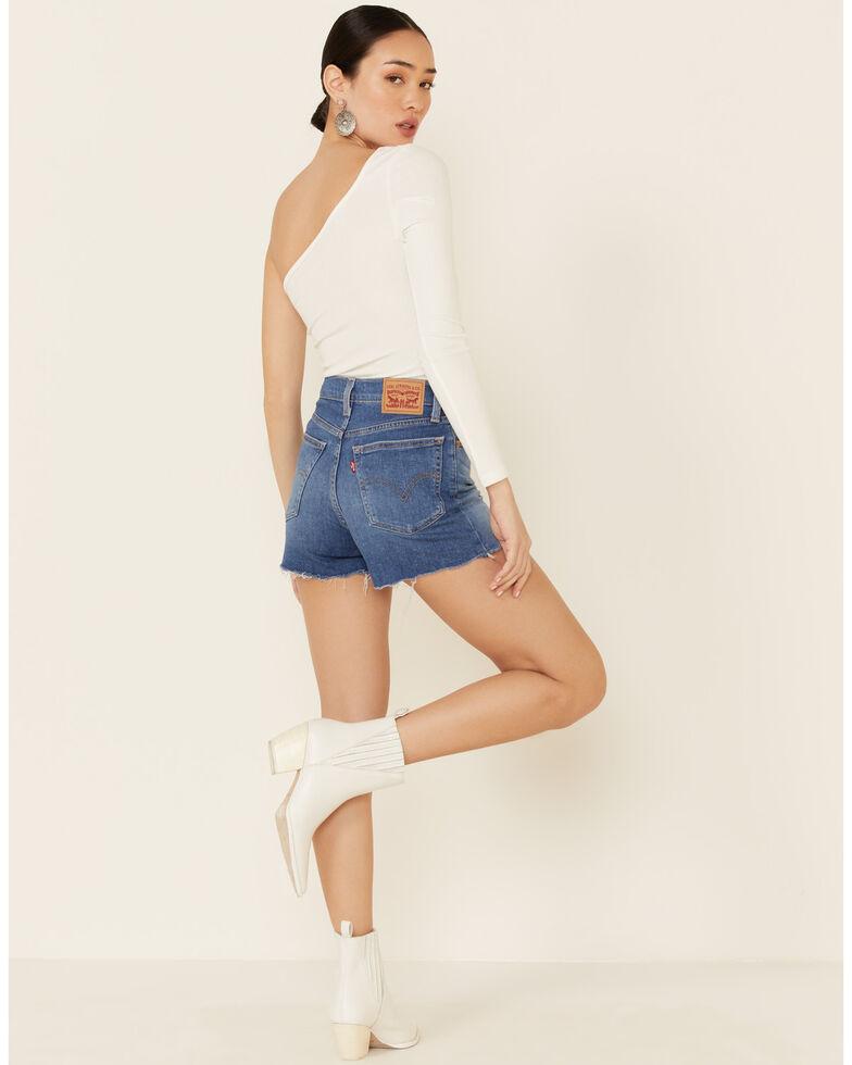 Levi's Women's Saphire Dust Shorts, Blue, hi-res