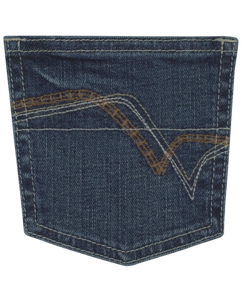 Wrangler 20X Boys' No 42 Clyde Park Vintage Junior Boot Jeans , Blue, hi-res