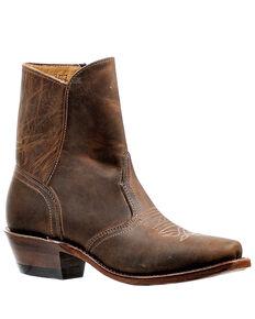 Boulet Women's Cutter Fashion Booties - Snip Toe, Dark Brown, hi-res
