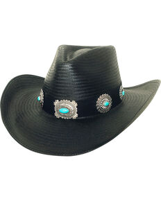 Bullhide Women s A Night To Shine Straw Cowgirl Hat 18950997dad7