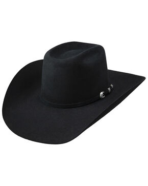 Resistol Men's SP Western Hat, Black, hi-res