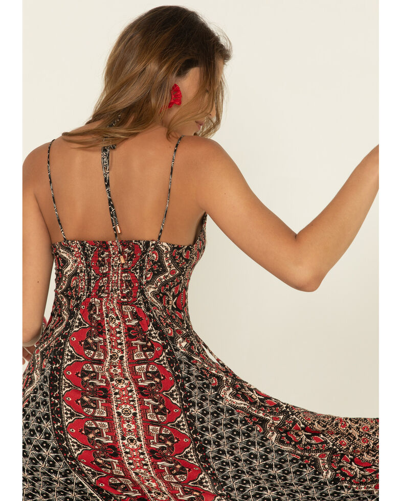 Free People Women's On The Bright Side Maxi, Black, hi-res